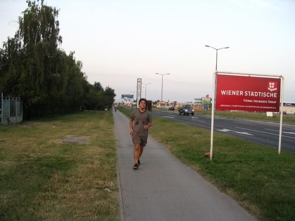 Baltes Aleksandar prvi put sa trkačima TRON-a