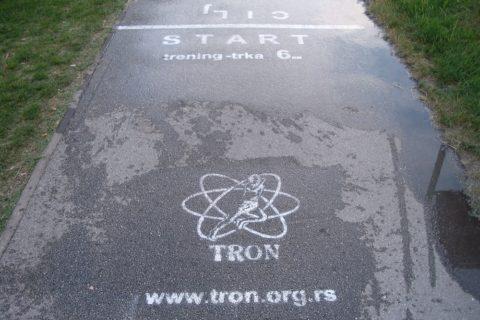 339. TRON trening trka