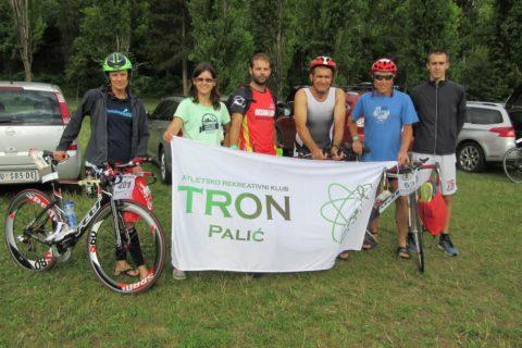 """Gladijatori"" ARK Trona na  IV. Aquarius  triatlonu u Mađarskoj"